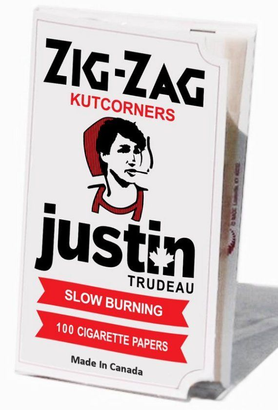 """Politician-Inspired Smoking Papers"" spotted on @trendhunter 