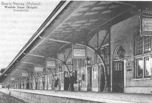 station Weelde.