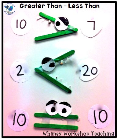 80 Best Primary Math Greater Than Less Than Images On Pinterest