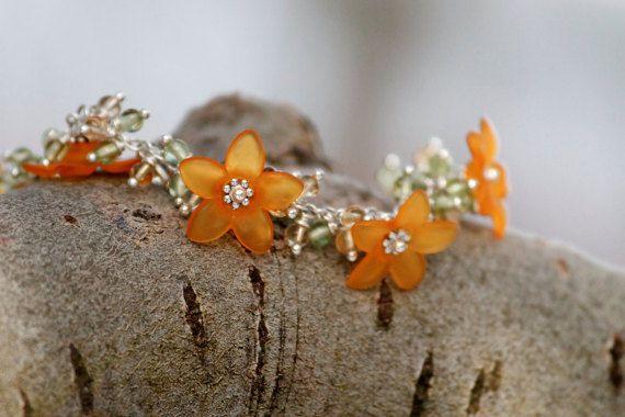 Bracelet * Strelitzia *
