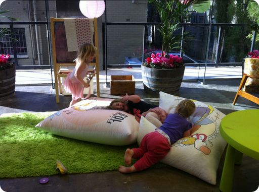 Funny Oversized Floor Pillows For Kids Playroom
