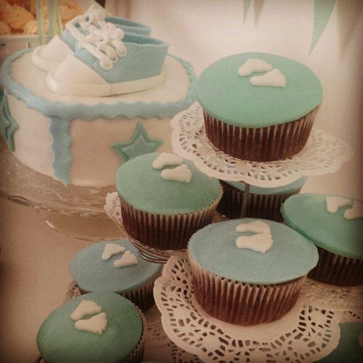 Babyshower bites #homemade #cake #cupcakes #baking