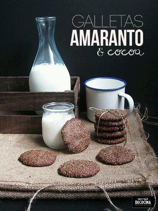 Cookies de Cacau e Amaranto-LISTO                                                                                                                                                                                 Mais