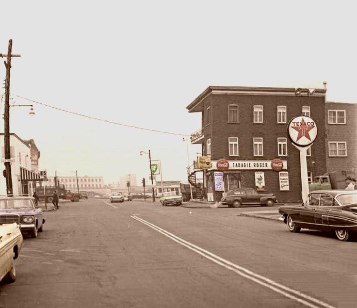 Limoilou au coin de la 4e rue et de la 2e Avenue en 1963