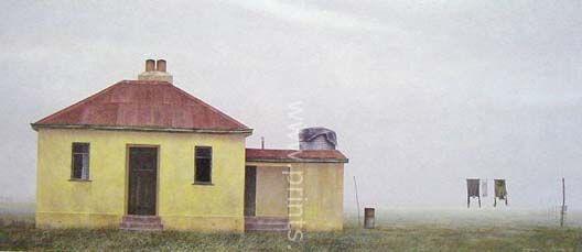 Fog at Stan Cotter's by Grahame Sydney for Sale - New Zealand Art Prints