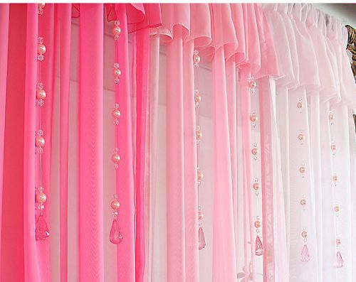 Beautiful Pink #Curtain