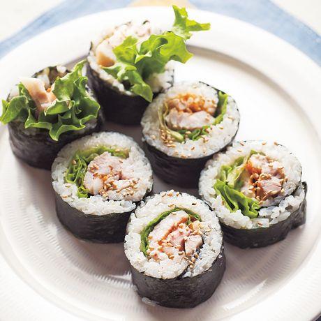 ポッサムキンパ | 外処佳絵さんのごはんの料理レシピ | プロの簡単料理レシピはレタスクラブニュース