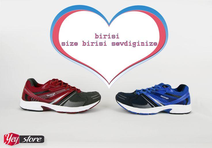 Şimdi koşma zamanı! Birisi size birisi sevdiğinize ♡ Slazenger Wikola Koşu Yürüyüş Ayakkabıları stoklarımızda sipariş vermek için;