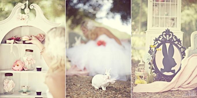Mariage Th Me Alice Au Pays Des Merveilles D Coration