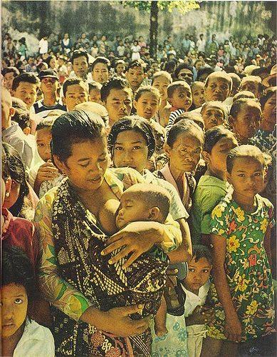 Ibu dan anak, Java tempo doeloe.