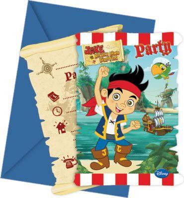 Buy Jake Yoho - 6 Die-Cut Invitations & Envelopesfor R86.00