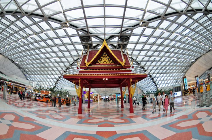 Bangkok Thailand Airport This would be nice.