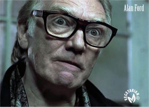 Alan Ford, actor. Vegetariano.