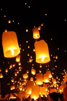 Hand Made Sky Lantern from Thailand by ThailandLighting on Etsy, $0.97 -- Maybe I'm just a Disney nerd but I think these would be soo neat for a wedding!