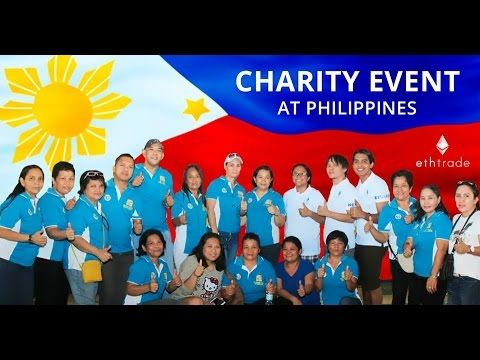 ETHtrade PHILIPPINES First Charity Event