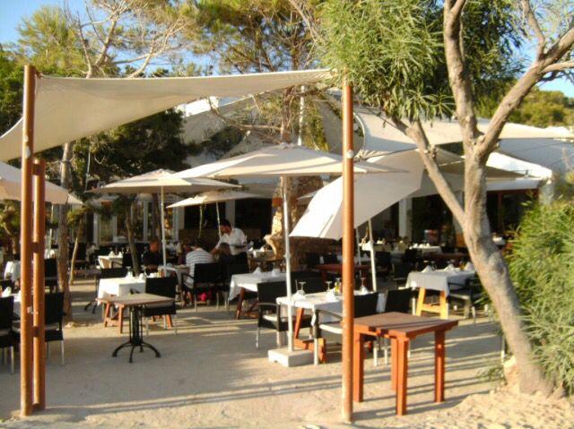 restaurant can jaume at cala vadella ibiza - Beach Style Restaurant 2016