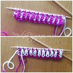 Уроки вязания в технике бриошь Brioche knitting. Обсуждение на LiveInternet - Российский Сервис Онлайн-Дневников