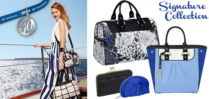 Rosie Tupper & Hye Park for Lesportsac 40th Anniversary Spring/Summer Campaign.
