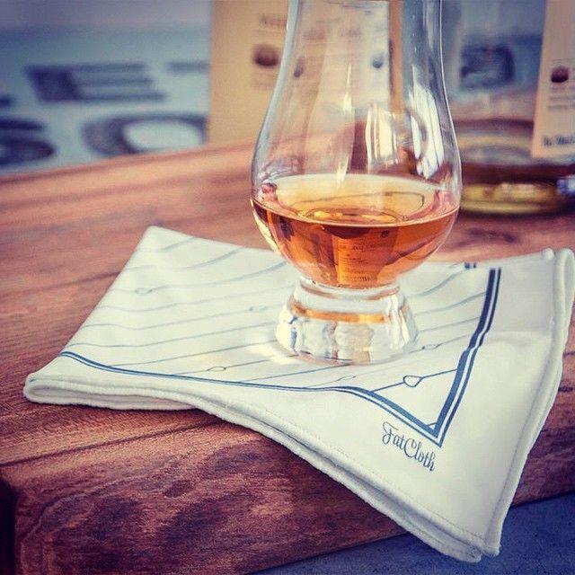 Bernie White FatCloth - the perfect companion for a glass of scotch. http://www.thefatcloth.com/products/bernie-white