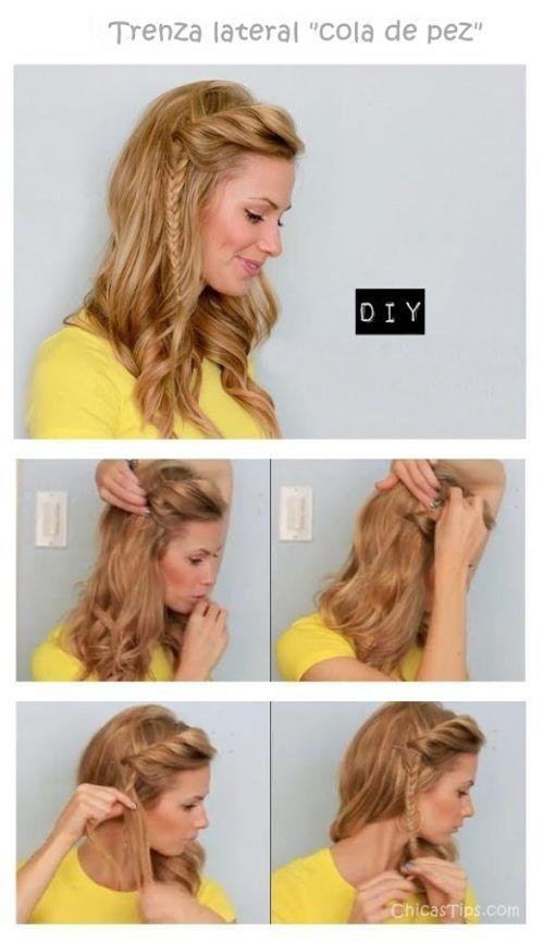 Peinados fáciles en chicastips.com
