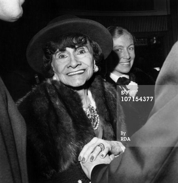 News Photo: Gabrielle Chasnel said Coco Chanel here at premiere…