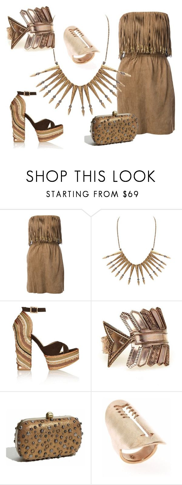 """""""Santa Fe"""" by southernreef ❤ liked on Polyvore featuring ByDanie, House of Harlow 1960, Paloma Barceló and modern"""