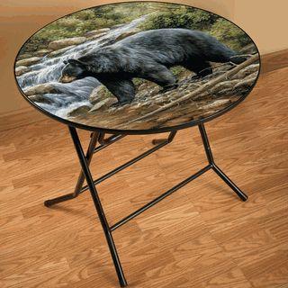 Bear Scene Folding Table