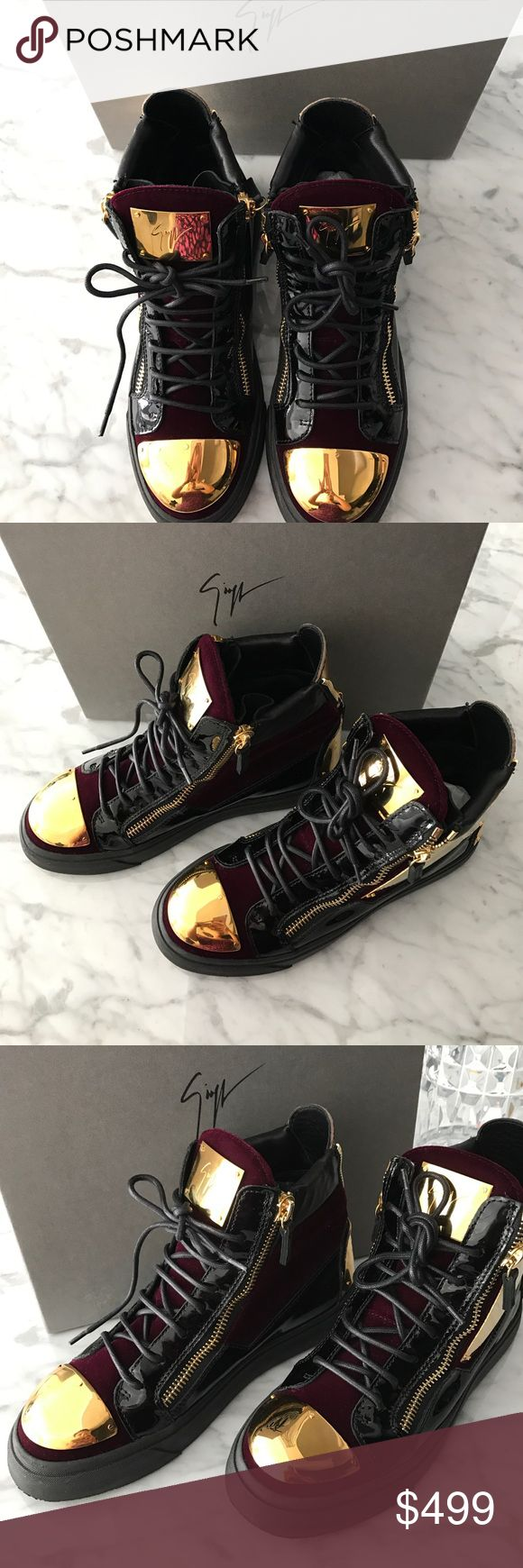 Giuseppe Zanotti High Top Sneakers NIB New in box Giuseppe Zanotti sneakers sz. 38 Giuseppe Zanotti Shoes Sneakers