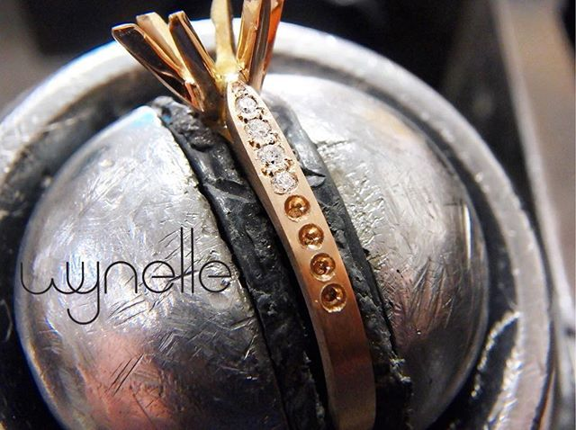 Handcrafted • Handset  Your custom made Wynelle engagement ring comes with the a lifetime guarantee on manufacturing and unlimited services.