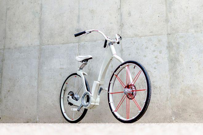 Invençao argentina - bicicleta elétrica dobrável que pesa menos de 20 quilos - Blue Bus