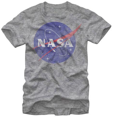 Nasa - Nasa Logo T-Shirt at AllPosters.com
