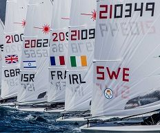 RYANI High Performance sailors compete at first major regatta in 2020 Olympic cycle