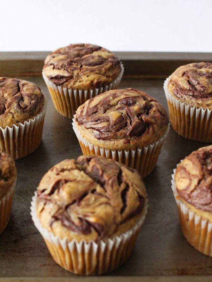 Muffins de Peanut Butter com Chocolate! Pode sim!