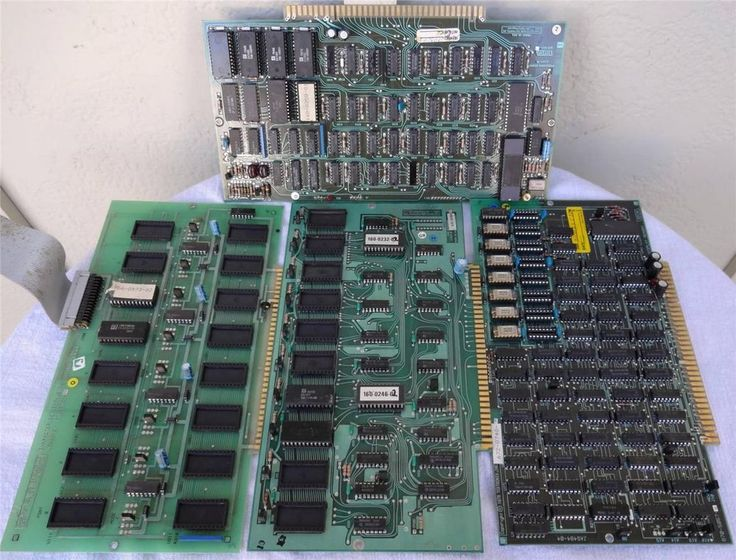 Vintage 1978 Tektronix 72-Pin Bus Micro Computer Circuit Boards Intel 8008 CPU $19.99