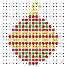 strijkkralen patronen kerst - Google zoeken