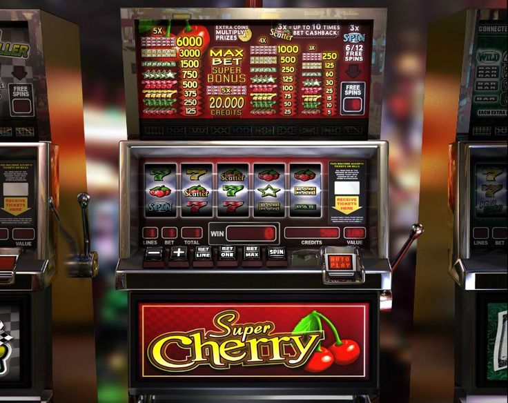 Super Cherry! Classic 5 reel slot! For more games register on casino-goldenglory.com