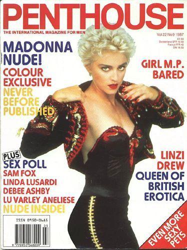 Madonna - Penthouse Magazine [United Kingdom] (1987)