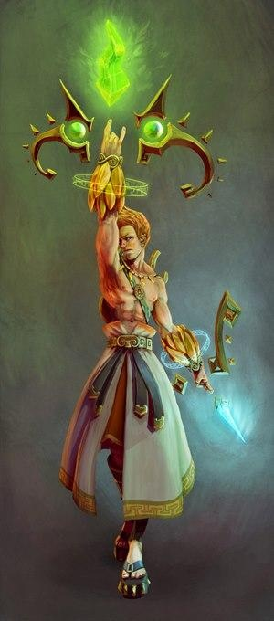 Name: Apollo Title: God of Music Pantheon: Greek Class: Hunter My list by preference: 7/48