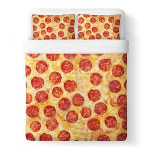 Party Pizza Duvet Cover Set
