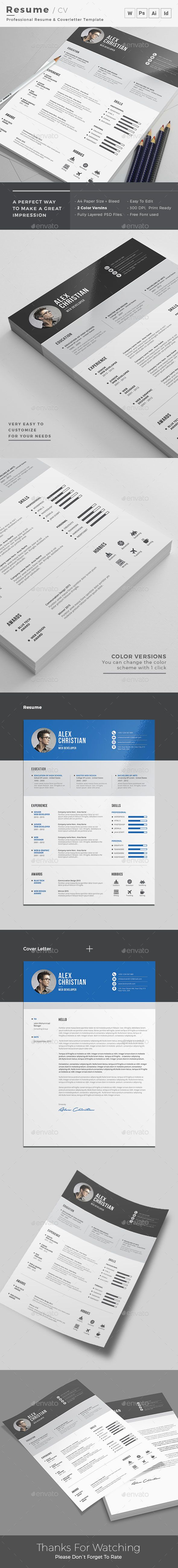 Resume 72 best Printable Design images on