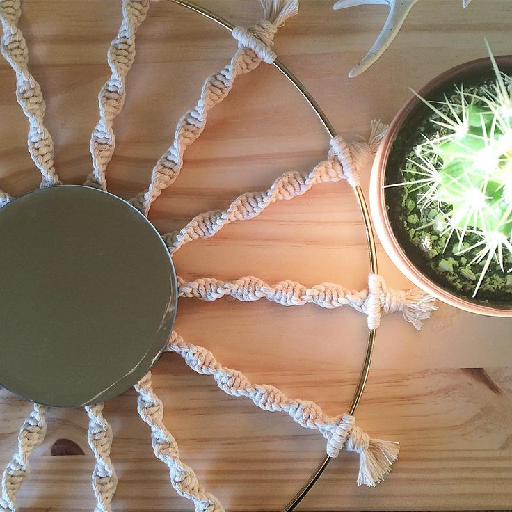 The 25+ best Macrame mirror ideas on Pinterest Macrame patterns - l f rmige k che