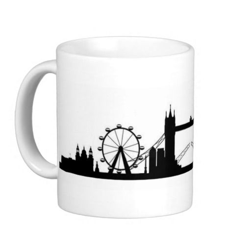 """Sentimental Wedding Gift Ideas: """"London"""" Mug May Be Personalized! Makes A Great Gift"""