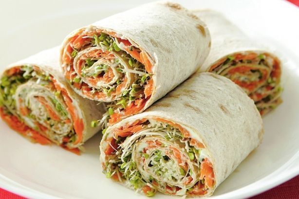 Vegie lavash spirals -change the dip if u like a different spread ie Hummus