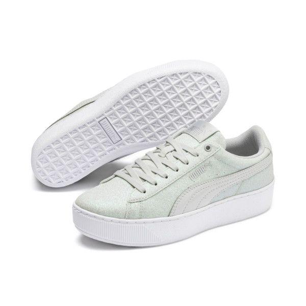 PUMA Vikky Platform Glitz Sneakers JR
