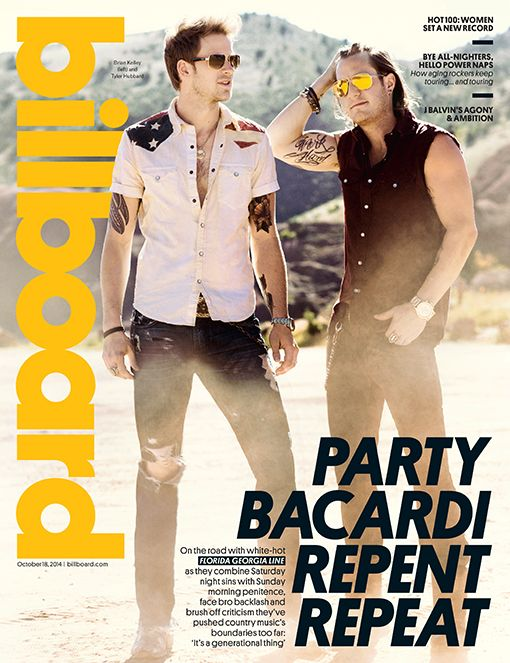 Billboard Cover: Florida Georgia Line on Being 'Professional Partiers,' Haters and Hip-Hop