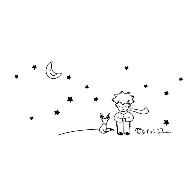 Wall Sticker Surper_¡ Stars Moon The Little Prince Boy Wall Sticker Home Decor Wall Decals ** Find out more details by clicking the image : DIY : Do It Yourself Today
