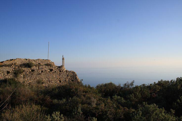 Collasgarba, località Maure, Camporosso. Where the sea meets the sky...
