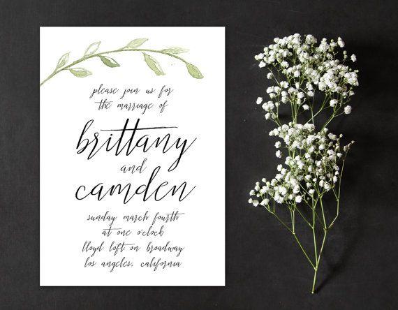 25 best Handwritten wedding invitations ideas – Handwritten Calligraphy Wedding Invitations
