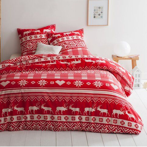 les 42 meilleures images du tableau esprit montagne sur pinterest linge de maison housses et. Black Bedroom Furniture Sets. Home Design Ideas