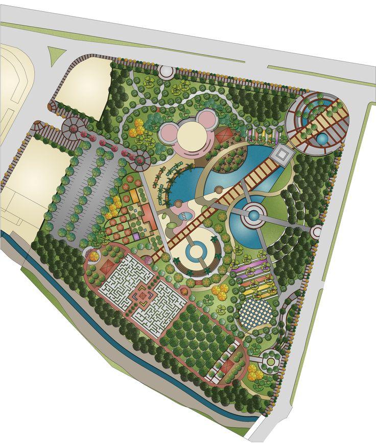 Urban Park Landscape Design Plan